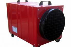Emplacement Chauffage électrique 12 kW - Générateur de chaleur mobile