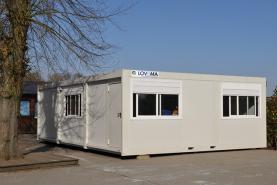Emplacement Bungalow - Container/conteneur - Stockage - Salle de classe ou de réunion provisoire - Chantiers