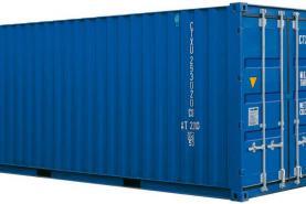 Emplacement Conteneur - Container de stockage maritime en métal iso20'