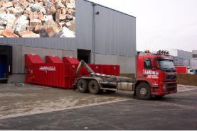 Emplacement Container pour briquaillons - Conteneur de transport - Benne 8m³, 10m³, 12m³, 15m³, 20m³, 30m³ & 45m³ en location en location