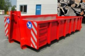 Emplacement Container - Conteneur pour transport de BRIQUES - BRICAILLONS - 8m³, 10m³, 12m³, 15m³, 20m³, 30m³ & 45m³