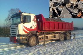 Emplacement Container/Conteneur/Benne pour transport de briques, briquaillons et gravats à Marche-en-Famene(8m³, 10m³, 12m³, 15m³, 20m³, 30m³ & 45m³)