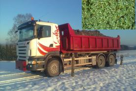Emplacement Container/Conteneur pour transport de déchets verts à Marche en Famene - Branchages - Herbe - Feuillages (8m³, 10m³, 12m³, 15m³, 20m³, 30m³ & 45m³)