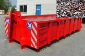 Emplacement Container - Conteneur pour transport de DECHETS INERTES - 8m³, 10m³, 12m³, 15m³, 20m³, 30m³ & 45m³