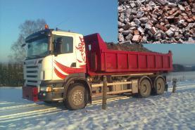Emplacement Container/Conteneur/Benne de chargement pour transport d'inertes ou terre à Marche en Famene (8m³, 10m³, 12m³, 15m³, 20m³, 30m³ & 45m³)
