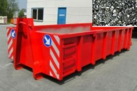 Emplacement Container - Conteneur pour transport de METAUX - FERRAILLE - 8m³, 10m³, 12m³, 15m³, 20m³, 30m³ & 45m³