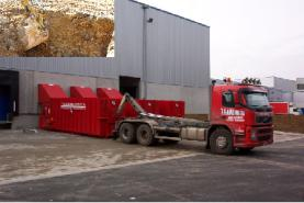 Emplacement Container pour terre - Conteneur de transport - Benne 8m³, 10m³, 12m³, 15m³, 20m³, 30m³ & 45m³ en location