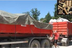 Emplacement Container - Conteneur 8m³, 10m³, 12m³, 15m³, 20m³, 30m³ & 45m³ - Transport d'amiante - Sécurité