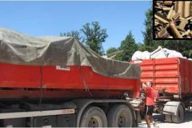 Emplacement Container - conteneur 8m³, 10m³, 12m³, 15m³, 20m³, 30m³ & 45m³ - Transport de matières plastiques