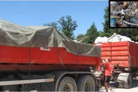 Emplacement Container - conteneur 8m³, 10m³, 12m³, 15m³, 20m³, 30m³ & 45m³ - mélange déchets tout-venant