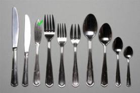 Emplacement Couteau à poisson – Eternum - Vaisselle - Matériel traiteur - Couvert