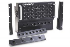 Emplacement Rack console Digico D Rack