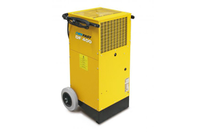 Emplacement Déshumidificateurs DRYFAST DF400 pour construction, travaux ou rénovation