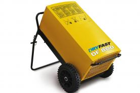 Emplacement Déshumidificateurs DRYFAST DF800 pour construction, travaux ou rénovation