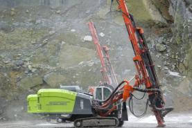 Emplacement Machine de Forage SANDVIK DI550 Leopard pour entrepreneurs et carrières