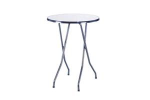 Emplacement Tables hautes rondes - tables mange-debout - mobiliers pour vos événements, foires, salons, réceptions...