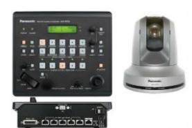 Emplacement Kit 3 caméras dôme Panasonic + contrôleur + table de mixage