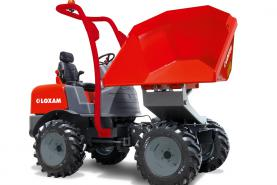 Emplacement Dumper girab. charge utile 4t/2400l