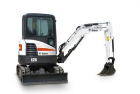 Location Mini-pelle 2.7T - Minipelle Bobcat E26