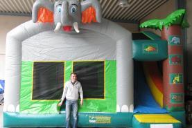 Emplacement Château gonflable jungle - big elephant - Jeux gonflables