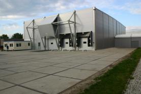 Emplacement Entrepôt démontable - Structures provisoires toutes tailles - Hall de stockage