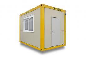 Emplacement Containers - conteneurs modulaires C4 - 4m/2.45m - modules habitables