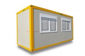 Emplacement Containers - conteneurs modulaires C 6m/2.45m - modules pour vestiaires ou réfectoires et autres