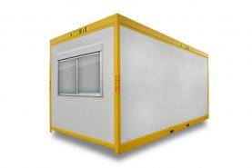 Emplacement Containers - conteneurs modulaires AS 6m/3m - modules habitables pour milieu industriel