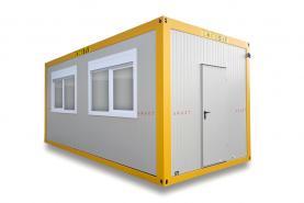 Emplacement Containers - conteneurs modulaires AE 6m/3m - modules habitables
