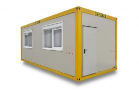 Emplacement Container bureau - conteneurs modulaires A7 - 7m/3m - modules habitables pour vestiaires/réfectoires