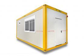 Emplacement Container bureau - conteneurs modulaires AWD 6m/3m - Espaces combinés avec sanitaires
