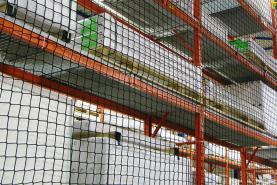 Emplacement Filet anti-chute - Pare-gravats - Garde-corps - Protection en cas de chute - Sécurité en hauteur