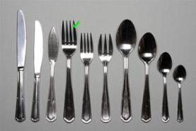 Emplacement Grande fourchette – Eternum - Vaisselle - Matériel traiteur - Couvert