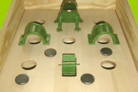 Emplacement Jeu de la grenouille - jeu - animation en bois traditionnel