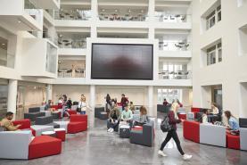 Emplacement Ecran TV pour hall d'entrée, accueil des visiteurs dans votre ECOLE ou établissement SCOLAIRE- Borne multimédia pour diffusion de photos ou vidéos