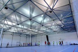 Emplacement Hall de sport démontable - Complexe sportif provisoire pour événements sportifs, compétitons... Structures modulaires
