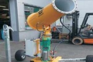 Emplacement Brumisateur - Humidificateur - Canon de brumisation mobile - Rafraichissage - GUN 30