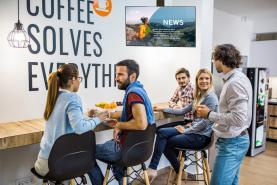 Emplacement Ecran TV pour la communication interne de votre entreprise