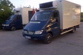 Emplacement Camionnettes Frigo - utilitaires permis B - camions permis C - véhicules