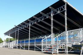 Emplacement Tribunes - Gradins extérieurs - Sièges pour spectacles, compétitions sportives...