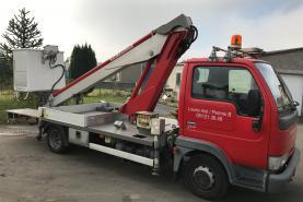 Emplacement Nacelle élévatrice de 16 mètres sur fourgon/camionnette pour travaux en hauteur PERMIS B