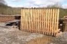 Emplacement Barrières en bois