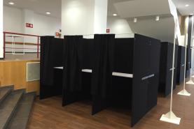Emplacement ISOLOIR DE VOTE