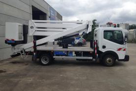 Emplacement Location long-terme - Leasing de camion nacelle pour travail en hauteur