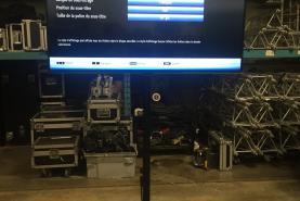 Emplacement Kit écran Tv 55