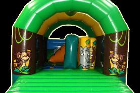 Emplacement Château gonflable couvert Jungle 2 (4 x 5 m)