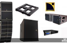Emplacement Système de diffusion Line Array L-Acoustics