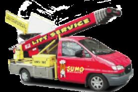 Emplacement Lift électrique - monte meuble - nacelle - élévateur à Liège