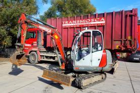 Emplacement Mini pelle 1500kg/1,5t - Pelles de chantier - Avec ou sans opérateur