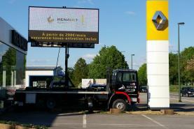Emplacement Ecran géant LED 8M² p10 (sur remorque) - Affichage indoor & outdoor